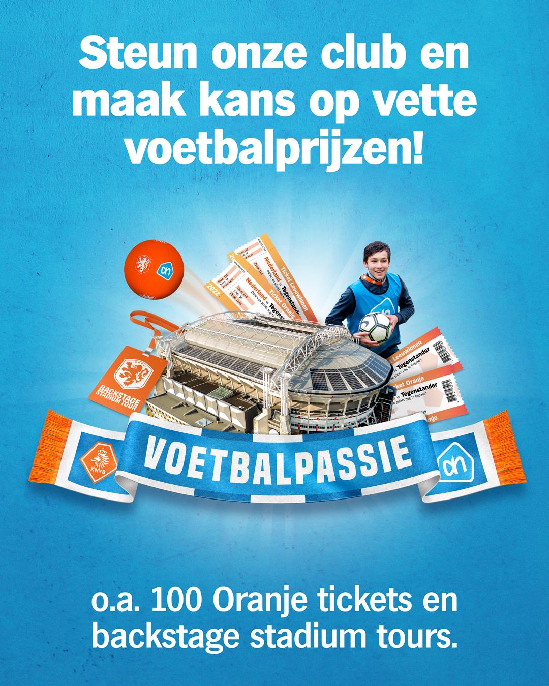 Voetbalpassie AH / KNVB Actie