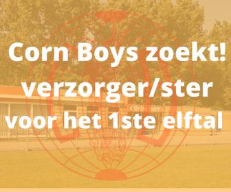 Corn Boys zoekt verzorger/ster voor 1ste elftal